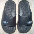 black slides sandals water casual Sport brand size 12  in good used condition