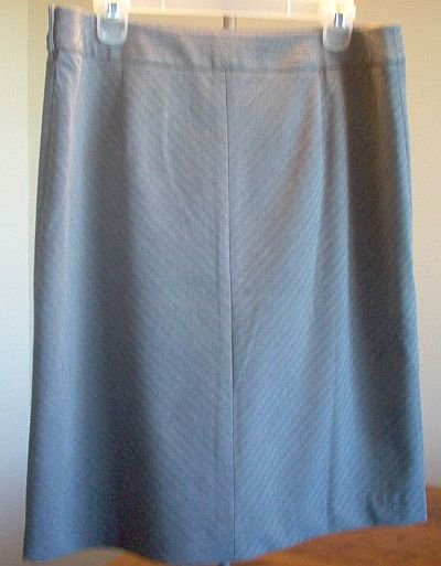 brand new $79 Ann Taylor size 14 black and gray skirt NWT