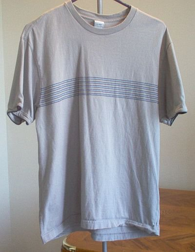 Old Navy size medium t-shirt tan like new casual nice tee