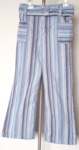 EUC Covington size 5 blue striped flare corduroy pants excellent condition