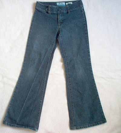 Old Navy stretch jeans size 8 bootcut cute trendy girls excellent condition