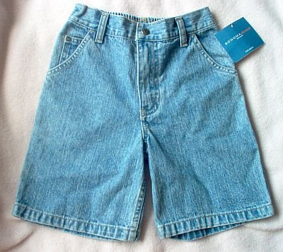 brand new size 7 jean shorts Sonoma carpenter painter style NWT