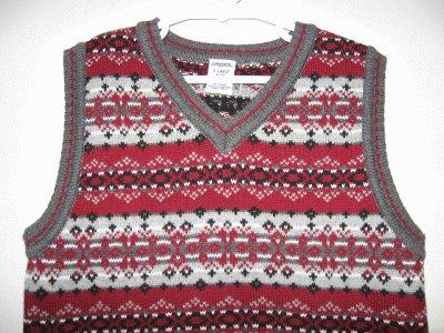 brand new GYMBOREE Gymbo ALL ABOARD vest NWOTsize XL 6 yrs