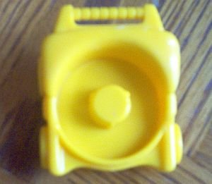 Fisher Price Little People yellow stroller newer in excellent condition
