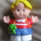 1999 Fisher Price Little People school Eddie w Freddie