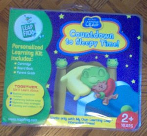 brand new LEARNING LEAP FROG Countdown to Sleepy Time! NIP