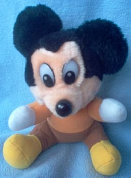 vintage mickeys a christmas carol mickey plush - Mickeys A Christmas Carol