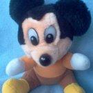 Vintage Mickey's A Christmas Carol Mickey Plush