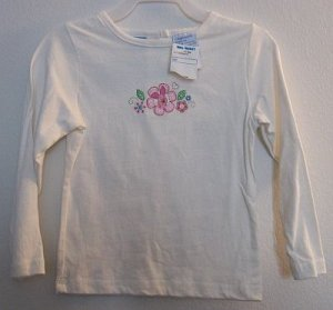 Disney Piglet Cream Long Sleeve T-Shirt sz 3T