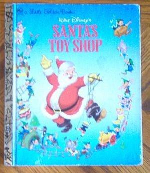 Little Golden Book Vintage Santa's Toy Shop 1950 good condition