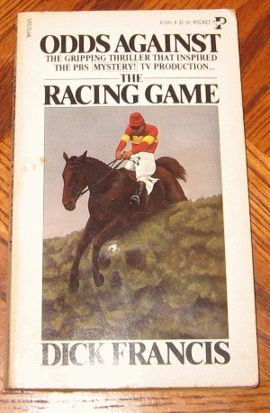 Odd's Against the Racing Game Dick Francis 1965 vintage book good condition