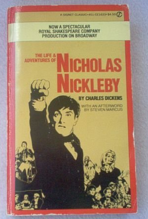 Nicholas Nickleby by Charles Dickens 1981 book good condition