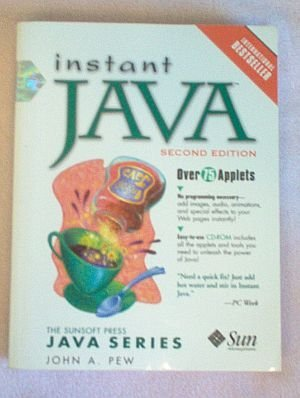 Book: Instant Java 2nd Edition. with CD 1997 good condition