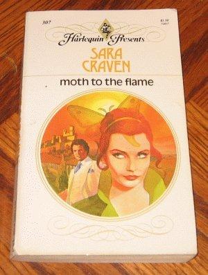 vintage 1979 Harlequin Sara Craven MOTH TO THE FLAME