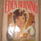 Book: Belva Plain Eden Burning 1982 hardcover with dustjacket good condition
