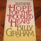 Hope for the Troubled Heart BILLY GRAHAM book softcover excellent condition