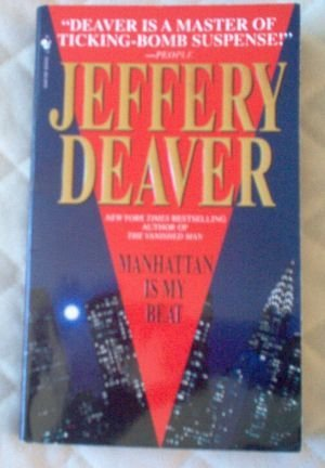 Book: Manhattan is my Beat by Jeffery Deaver excellent condition