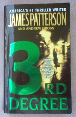 Book: James Patterson Andrew Gross 3rd Degree 2005 good condition