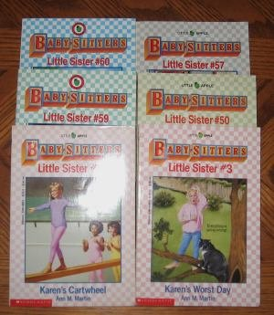 Lot of 9 Babysitters Club Little Sister Books 2 Super GC