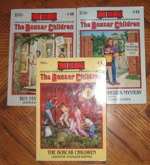 Lot of 3 Boxcar Children Books paperback gently used