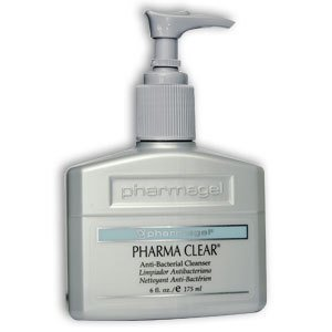 Pharmagel Pharma Clear Anti-Bacterial Cleanser 6oz.