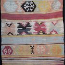 Rare Antique Nomadic Anatolian Mut Kilim Vegetable Dyes