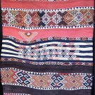 S. Antique Anatolian Tribal Nomadic Çicim Jajim Kilim