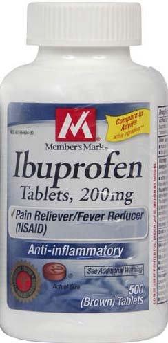 Member's Mark® Ibuprofen Tabs 200mg 500 Tablets