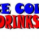 Cold Drink Decal (Pepsi)