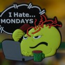 "Emoticon 3-D Magnet "" I Hate Mondays "" fr emoticonislive.com"