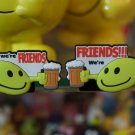 "Emoticon 3-D Magnet ""We're Friends"" fr emoticonislive.com"