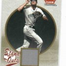 2004 Fleer Tradition Stand Outs Rocco Badelli Jersey Card Tampa Bay Rays