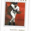 RARE Derek Jeter 2003 Fleer Avant Card Promotional Sample New York Yankees