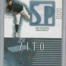 2002 Upper Deck SP Barry Zito Jersey Card Oakland A's