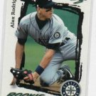 1995 Score Alex Rodriguez Rookie Mariners Yankees