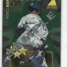 1995 Zenith Pinacle Hideo Nomo Rookie Roll Call Sample Los Angeles Dodgers