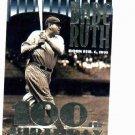 1995 Topps Babe Ruth 100th Birthday New York Yaknees Baseball Card