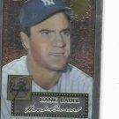 2002 Topps Chrome 1952 Reprint Hank Bauer New York Yankees Baseball Card