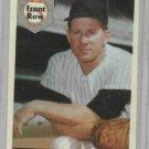 1992 Front Row Whitey Ford PROMO # 1 New York Yankees Baseball Card Oddball