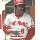 2003 Fleer Flair Greats Joe Morgan Cincinnati Reds Baseball Card