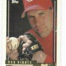 1992 Topps Gold Rob Dibble Pre Production Sample Cincinnati Reds RARE