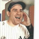 2003 Fleer Flair Greats Yogi Berra New York Yankees Baseball Card