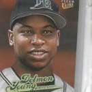 2004 Fleer Ultra Delmon Young Rookie Baseball Card Tampa Bay Rays