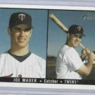 2003 Bowman Heritage Joe Mauer Rookie Card Minnesota Twins