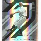 2005 Donruss Elite Turn Of The Century Zach Greinke  #D /750 Kansas City Royals