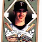 2003 Topps 205 Joe Mauer Minnesota Twins Baseball Card
