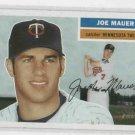 2005 Topps Heritage Joe Mauer Minnesota Twins