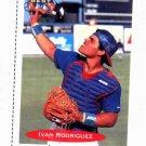 1991 Classic Best Ivan Rodriguez Rookie Card
