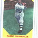 1960 Fleer Baseball Greats Rabbit Maranville Baseball Card