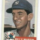 1991 Topps 1953 Reprint Billy Martin New York Yankees